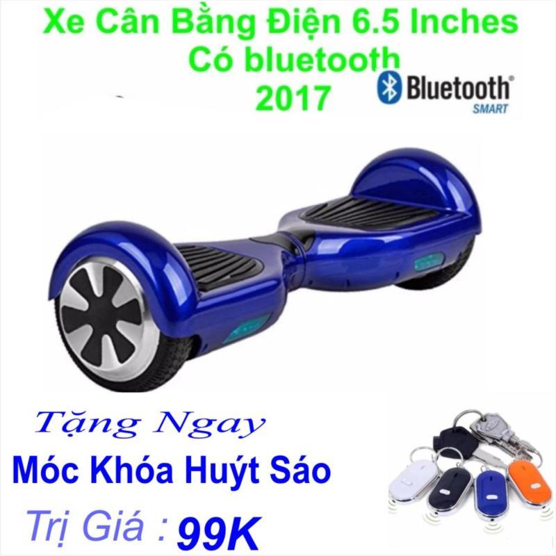 Mua Xe Tự cân bằng điện 6.5 inches Có bluetooth 2017(Xanh) Tặng Ngay Móc Khoá Huýt Sáo Trị Giá 99k