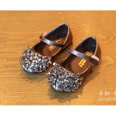 Giày bé gái thời trang RS036 (Xám đen)