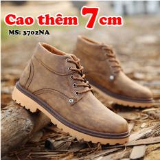 Giày Boot Nam Tăng Chiều Cao 7CM TINTO 3702NA