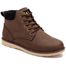 Giày Bốt Da Lộn Buộc Dây Zapas - GB082 (Màu Đen)