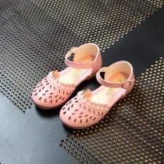 Giày búp bê đính hạt trai Gokichi B034 (Hồng)