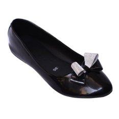 Giày búp bê 1 dây chéo MeGirl 92191 (Kem)