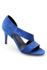 Giày cao gót dây kim tuyến Senta CGKT850 (Xám)