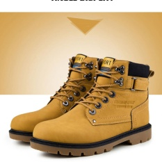 Giày dã ngoại kiểu thể thao nam cổ cao Sportmax SM9602Y -Vàng