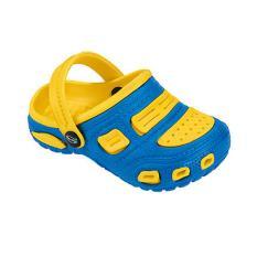 Giày Đi Mưa Trẻ Em Nkabini (Vàng Xanh Dương)