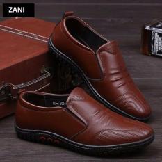 Giày lười da nam thời trang công sở ROZALO RM5229N-Nâu