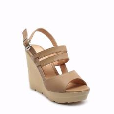 Giày nữ - Cindyrella CINDY33X-sandal đế xuồng bít hậu