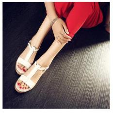 Giày sandal chữ I đế boot trang / 37