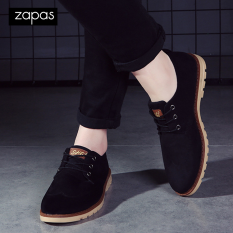 Giày Sneaker Da Thời Trang Nam Zapas – GS035 (Đen)