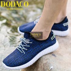 Giày Sneaker Nam DODACO DDC1809 DE GNA 39 - 43 (Đen)
