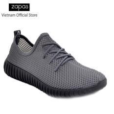 Giày Sneaker Thời Trang Nam Zapas – GS074 ( Xám )