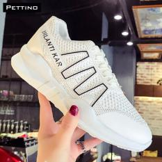 Giày Sneakers Nữ - Pettino MT02 (trắng)