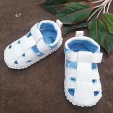 Giày Tập Đi Đế CaoSu PKGI234 - ( White )