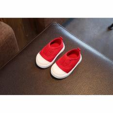Giày tập đi mẫu mới đáng yêu cho bé (đỏ)