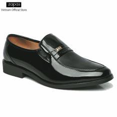 Giày tây nam Zapas dáng xỏ - GT003 (Màu Nâu)