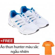 Giày thể thao nam Bitis DSM598330XDG (Xanh dương) + Tặng 1 áo thun hunter