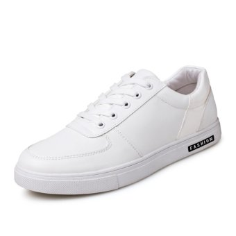 Men's Fashion Shoes, Spring new Shoes, Fashion Ccasual Shoes(WHITE)- intl