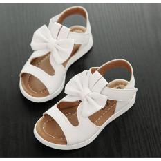 Sandal bé gái SDHQ013A (Trắng)