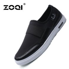 ZOQI Mens Fashion Casual Shoes Slip-Ons & Loafers(Black) - intl