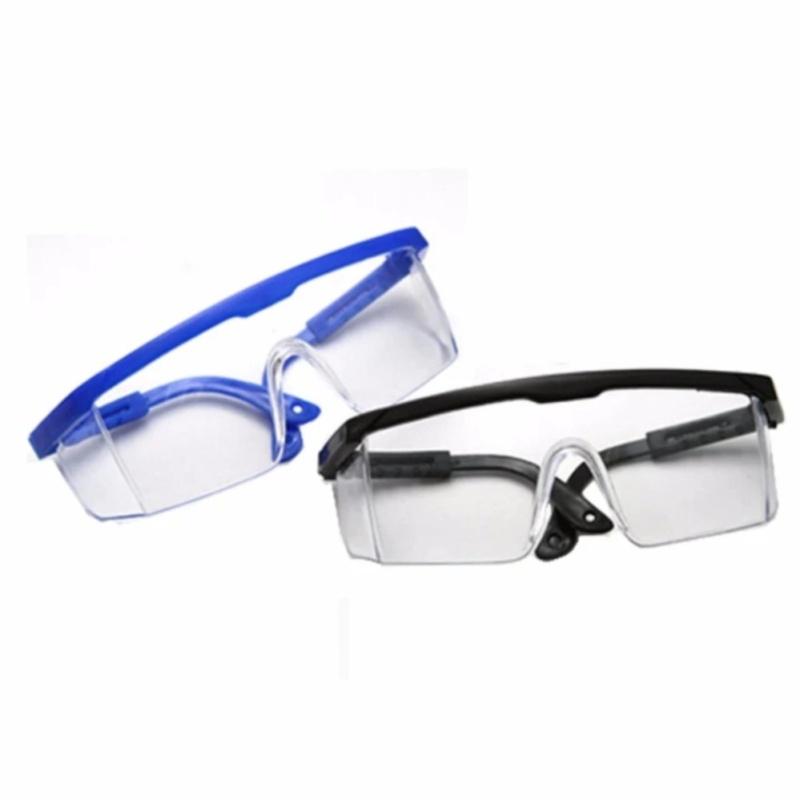 Giá bán Bộ 2 kính mát đi đường chống bụi bảo vệ mắt tiện dụng E-F1 (Xanh dương, đen)
