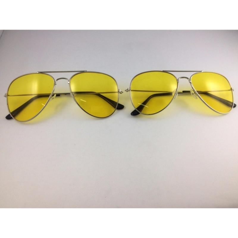 Giá bán Bộ 2 kính nhìn xuyên đêm chống lóa mắt (Vàng)