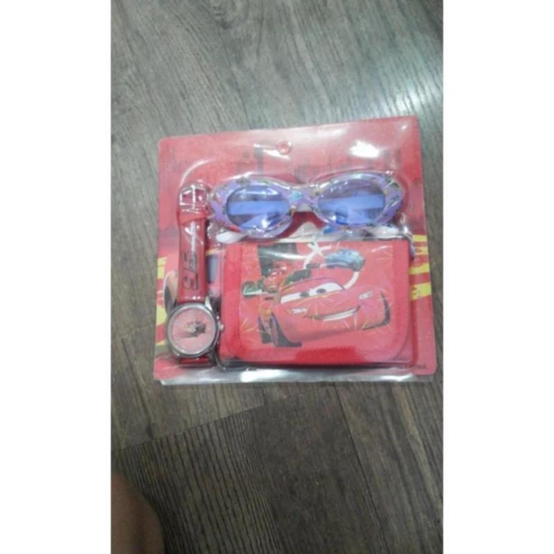 Mua Bộ 3 món đồng hồ, mắt kính, ví đáng yêu cho bé gái