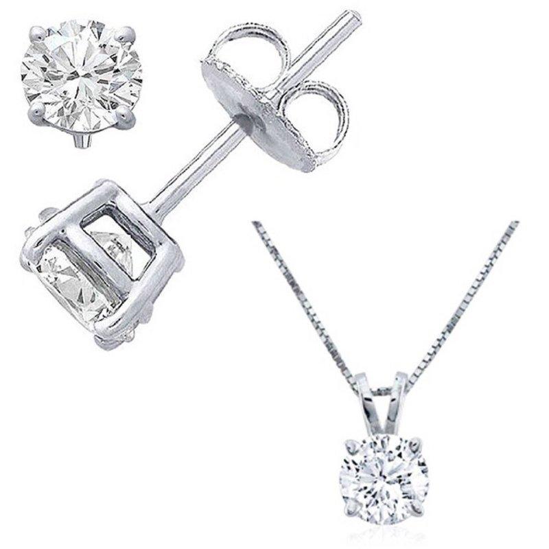 Bộ trang sức kim cương nhân tạo - BTS04