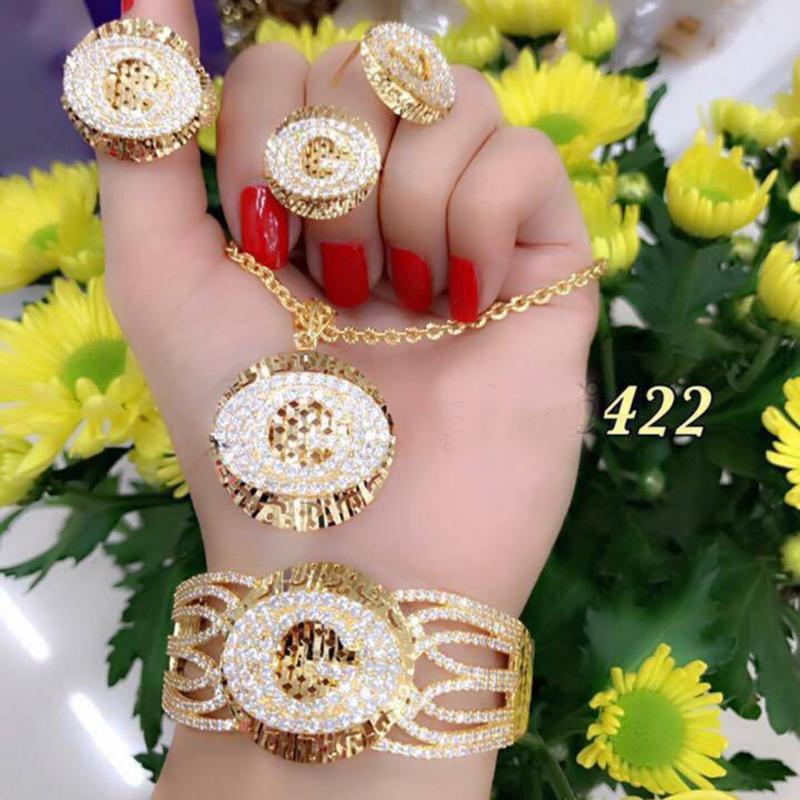 Bộ Trang Sức Nữ Xi Vàng 18K Gucci Gadoshop