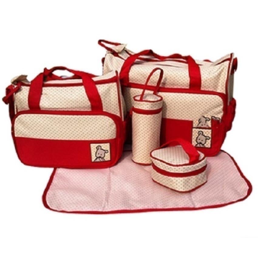 Bộ túi 5 in 1 cho mẹ và bé ST247vn M790 (Đỏ)