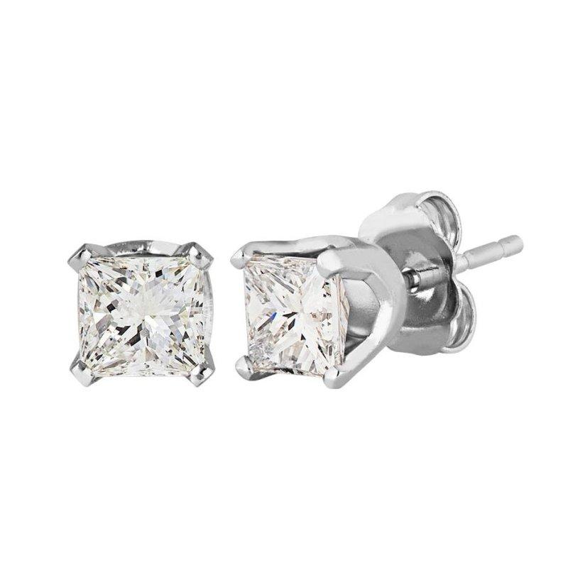 Bông tai nữ đá kim cương nhân tạo - BONG014