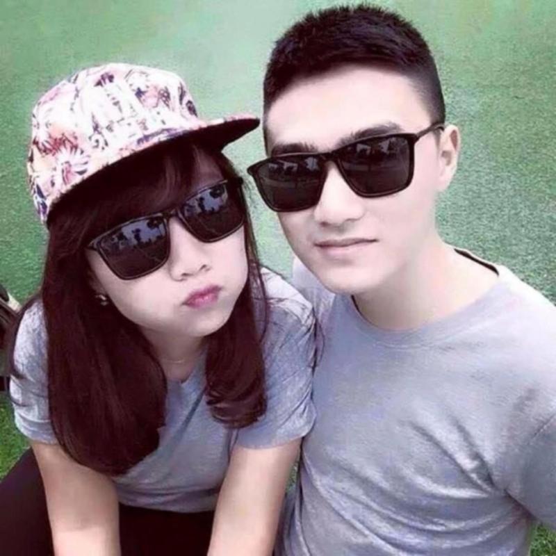 Mua Combo 2 Kính tây đen thời trang Hàn Quốc gọng mảnh dành cho các cặp đôi E-F1