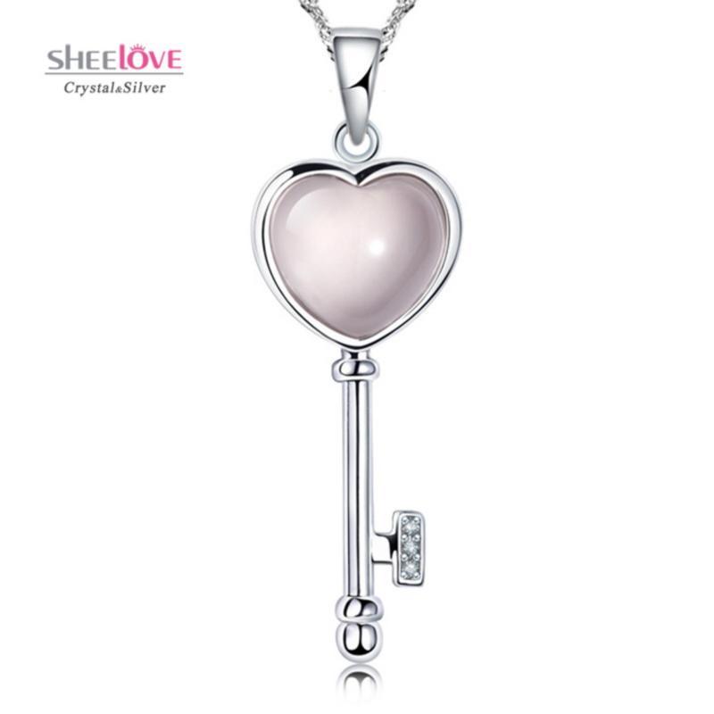 Dây chuyền chìa khoá trái tim ước nguyện tình yêu phong cách Hàn Quốc SPN-F15