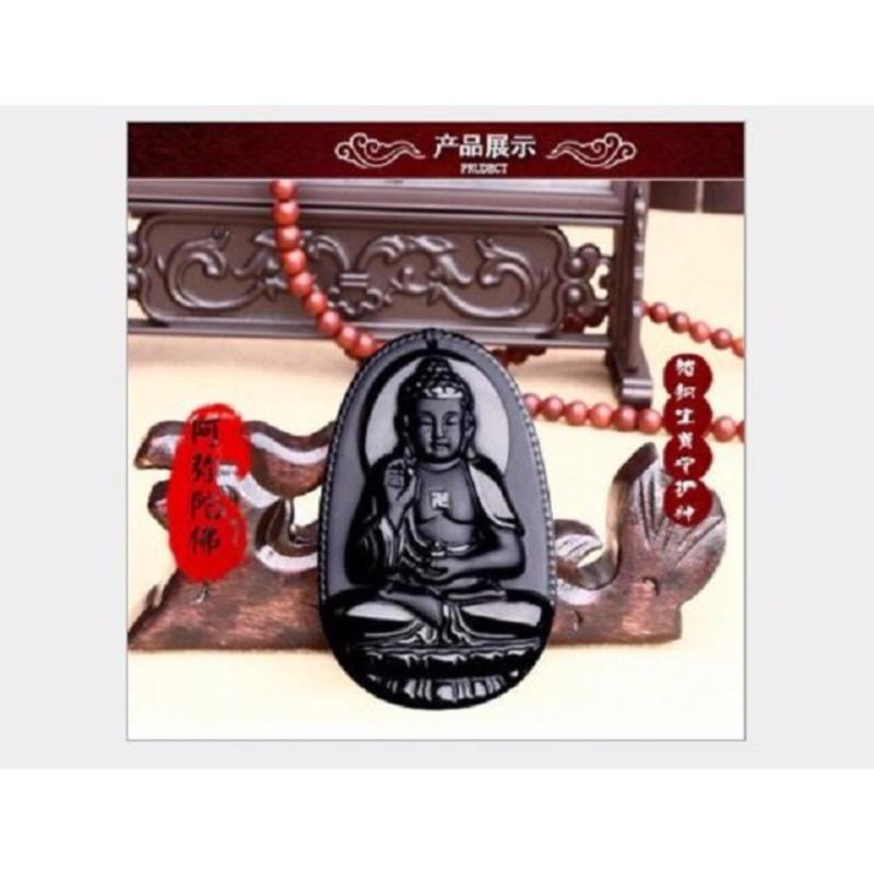 Dây chuyền nam mặt Phật A di đà Độ Mệnh Tuổi Tuất-Hợi-DC12