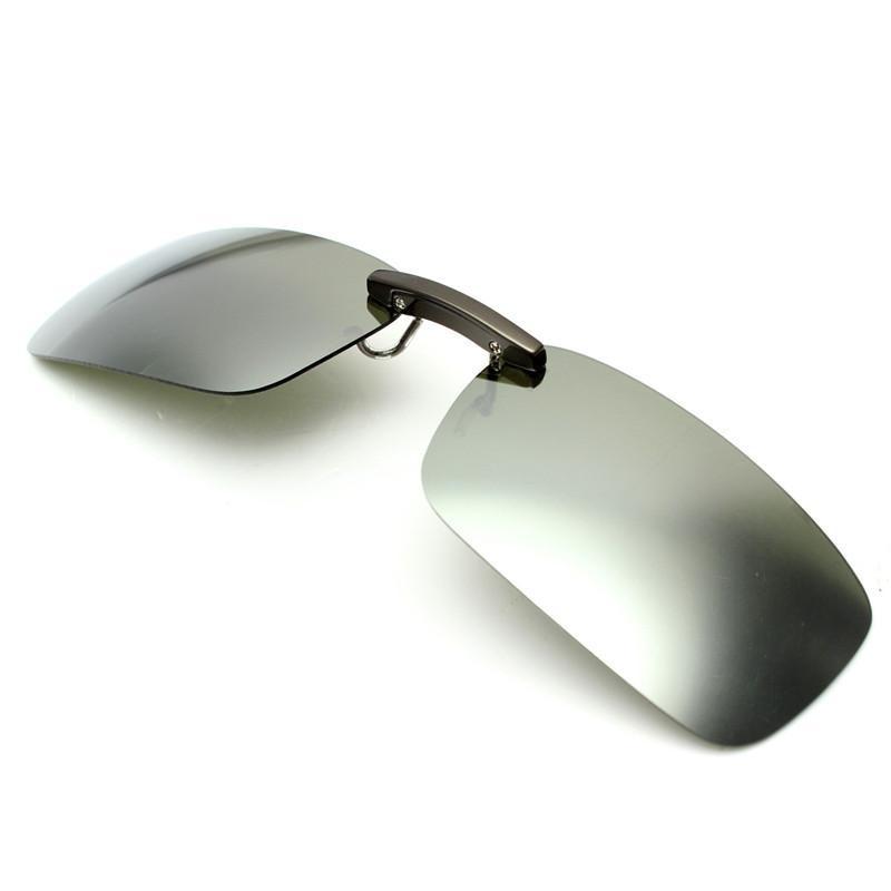 Mua Driving Polarized UV 400 Lens Clip-on Flip-up Sunglasses Glasses - intl