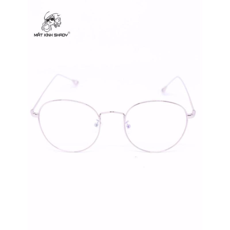 Giá bán Gọng kính cao cấp thời trang unisex shady - G590 (Bạc)