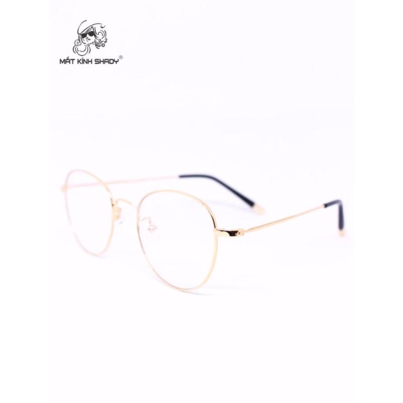 Mua Gọng kính cao cấp thời trang unisex shady - G591 (Vàng )