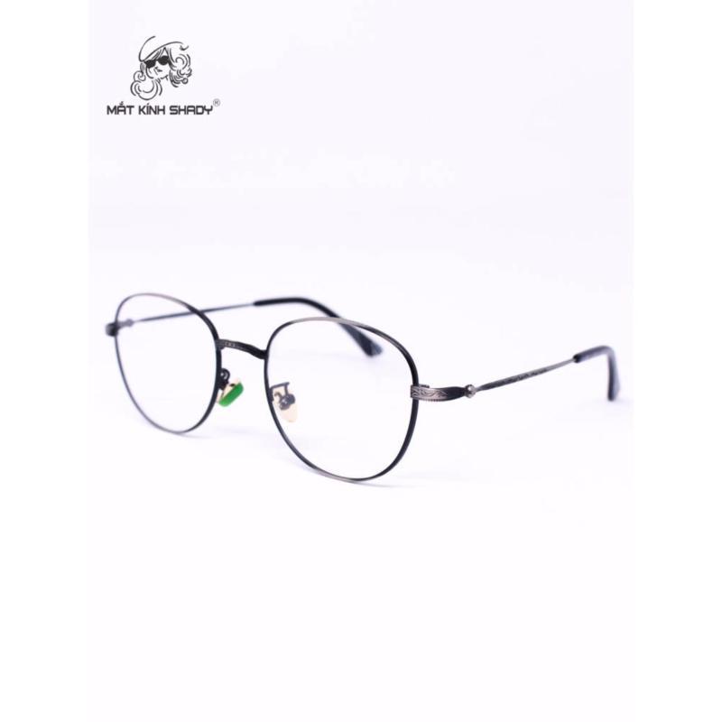 Giá bán Gọng kính cao cấp thời trang unisex shady - G614 (Xám )