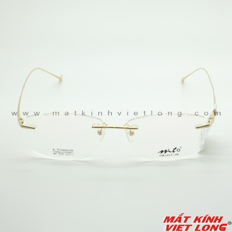 Giá bán Gọng kính MITO MT7835-C01 52-17 (Vàng)