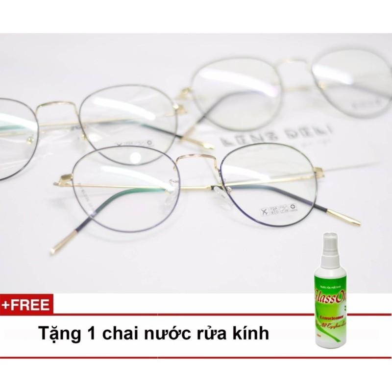 Giá bán Gọng kính siêu mỏng LENS Deli + Tặng 1 chai nước rửa kính Glassone