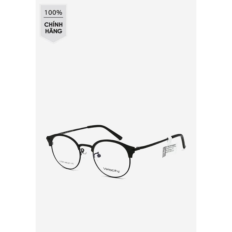 Giá bán Gọng kính tròn unisex Velocity VL 26616 C01 màu đen