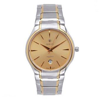 Đồng hồ dây kim loại Aolix 9065G (Bạc phối vàng)