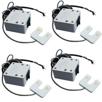 Bộ 4 cái đèn máy may siêu sáng Anpha Light 3