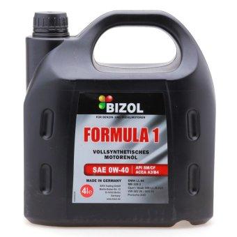 Dầu nhớt tổng hợp sae 0w40 Bizol BI95516 4L