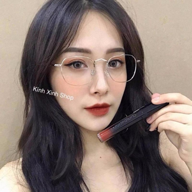 Giá bán Kính gọng Kim loại Hàn Quốc đuôi bi (BẠC)
