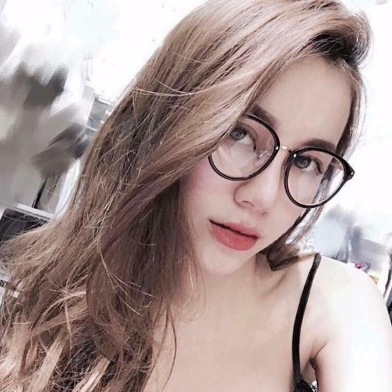 Giá bán Kính gọng Mắt mèo Hotgirl Hàn Quốc (ĐEN)