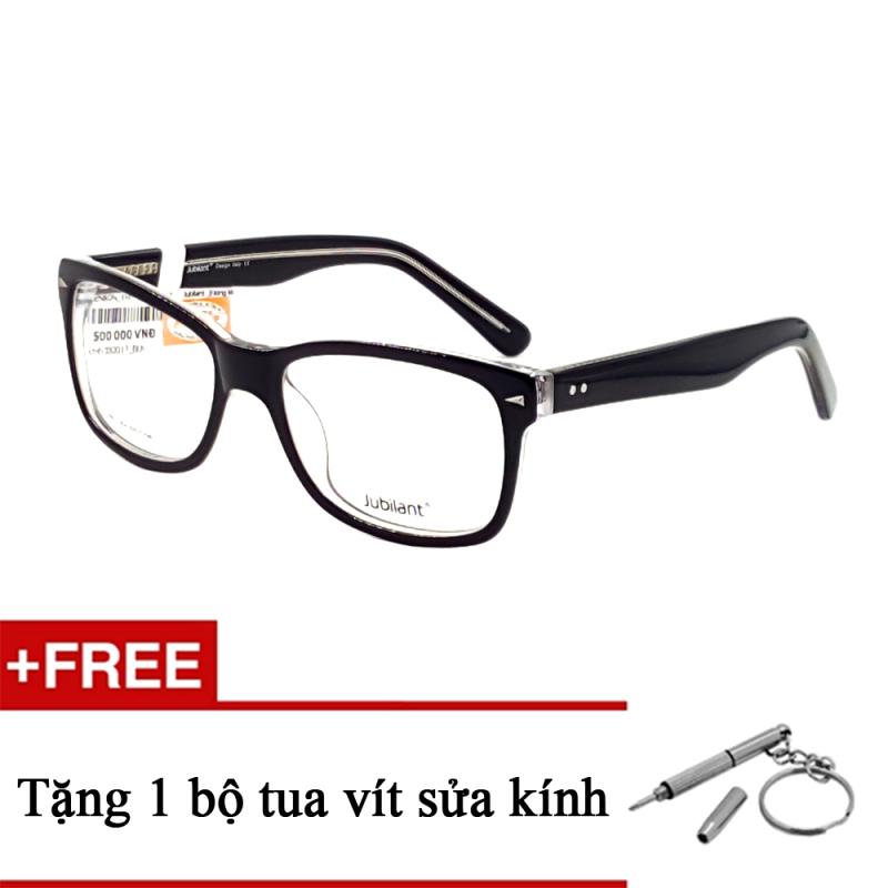 Giá bán Kính mắt JUBILANT J30017 BLK + Tặng 1 bộ tua vít sửa kính