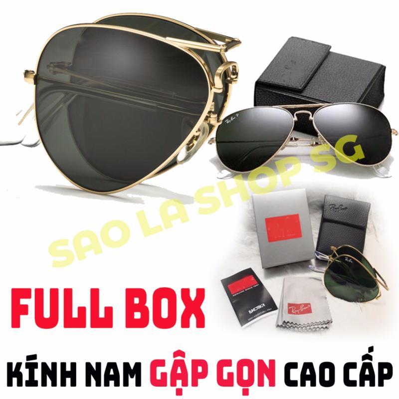 Giá bán Kính Mát Nam Cao Cấp Gập Gọn Full Box RB-No.1