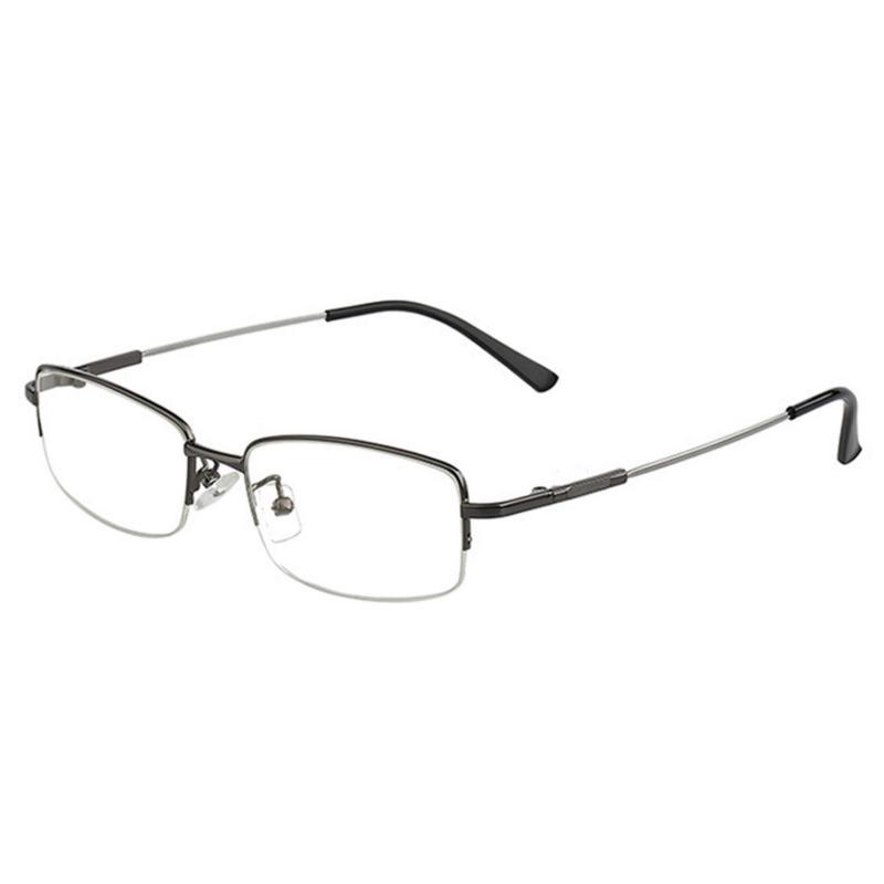 Giá bán Kính mắt nam chống bức xạ gọng kim loại K218 - 1A (Đen)