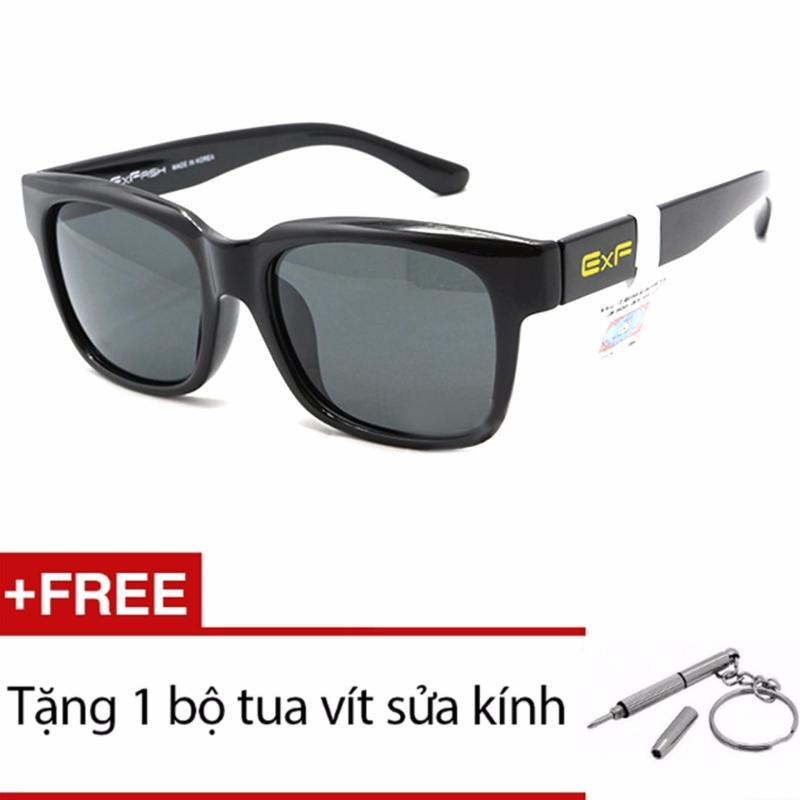 Giá bán Kính mát nam Exfash EF 5751 046 (Trắng nâu) + Tặng 1 bộ tua vít sửa kính