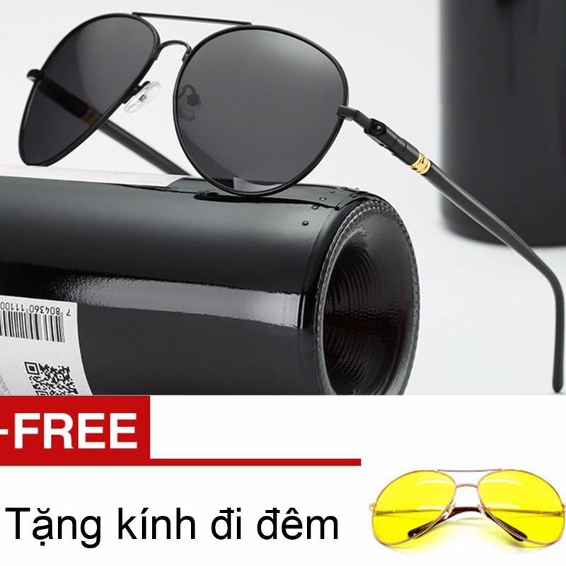 Giá bán Kính mát thời trang nam SN136 Conbonee tặng kính nhìn xuyên đêm